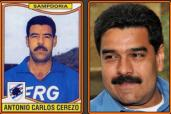 Toninho Cerezo e il presidente venezuelano Nicolas Maduro