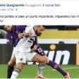 Fabio Quagliarella festeggia su Facebook il prezioso punto conquistato a Firenze.