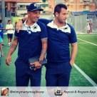 Antonio Cassano con Angelo Palombo