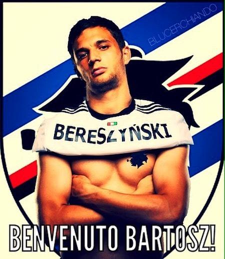 Seconda Maglia Sampdoria BARTOSZ BERESZYNSKI