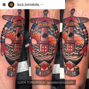Il tatuaggio di Emiliano Viviano