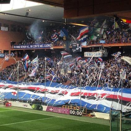 Sampdoria - Cesena 18 aprile 2015