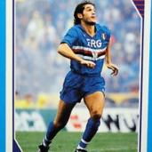 Marco Lanna (Genova, 13 luglio 1968) – Libero o centrale, cresciuto nella primavera blucerchiata e protagonista nella Samp dei miracoli dal 1987 al 1993. In 122 partite ha segnato 2 gol e vinto 1 scudetto, 2 coppe Italia, 1 supercoppa italiana e 1 coppa delle coppe. Nel 1993 passa alla Roma per poi tornare a Genova a fine carriera con 2 presenze nel 2002. Totale: 122 presenze, 2 gol
