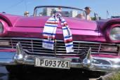 Sciarpa blucerchiata a l'Havana (Cuba)
