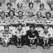 """Roberto Romei (Genova, 1 settembre 1957) -Terzino di grande temperamento e tenacia, soprannominato """"Picchia"""" dai tifosi per la sua irruenza e qualche rudezza di troppo. Esordisce in serie A in blucerchiato nel 1974/1975 e tornerà alla Samp dal 1978 al 1980 in due delle peggiori stagioni di sempre,con un nono e un settimo posto in Serie B. Totale: 44 presenze, 4 gol"""