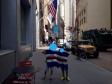 Daniele e Giacomo a Wall Street, New York (Usa)