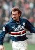 Giuseppe Signori (17 febbraio 1968) – Arriva alla Samp nel 1997/1998 ma gli strascichi del grave infortunio al ginocchio non gli permettono di mostrare il suo talento. 17 presenze e soli 3 gol prima di dare l'addio e andare al Bologna.