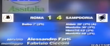Roma Sampdoria 1-4