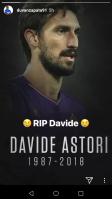 Il messaggio di Duvan Zapata