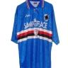 Maglia blu Samp For Peace 1995/1996