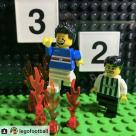 La ricostruzione in Lego della vittoria per 3-2 sulla Juventus del 2017 fatta da LegoFootball.