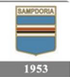 Il logo della Sampdoria del 1953