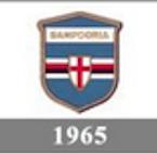 Il logo della Sampdoria del 1965