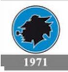 Il logo della Sampdoria del 1971