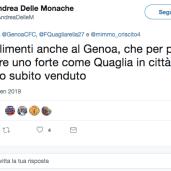 Twitter Quagliarella Genoa8