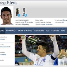 26 anni, difensore centrale (Uruguay)